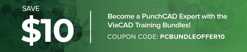 Become a PunchCAD Expert with the ViaCAD Training Bundle.