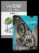 Punch! ViaCAD Pro v12 Upgrade From Any ViaCAD Pro v9-v11 With Training Guide Bundle