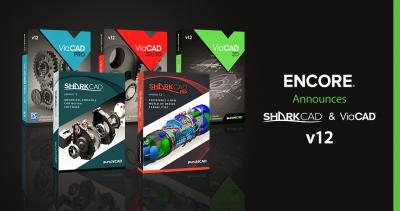 ENCORE SOFTWARE Announces SharkCAD® & ViaCAD® v12