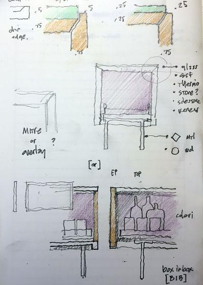 Graham Design Credenza Sketch